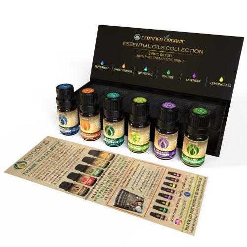 Organic Essential Oil Set